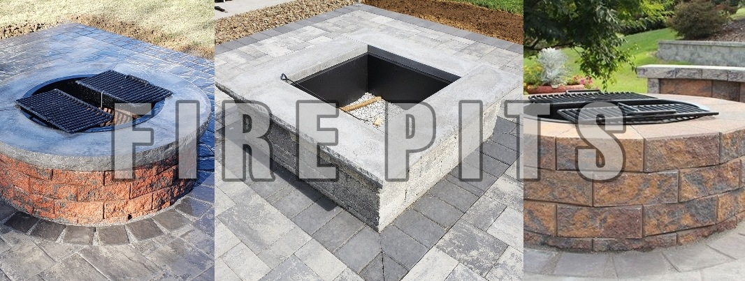 Fire Pit Kits - Hanover, PA - Hanover Fire Pit Kits - DREAMscape's
