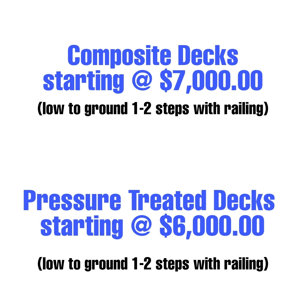 How much does a deck cost Deck pricing cost decks